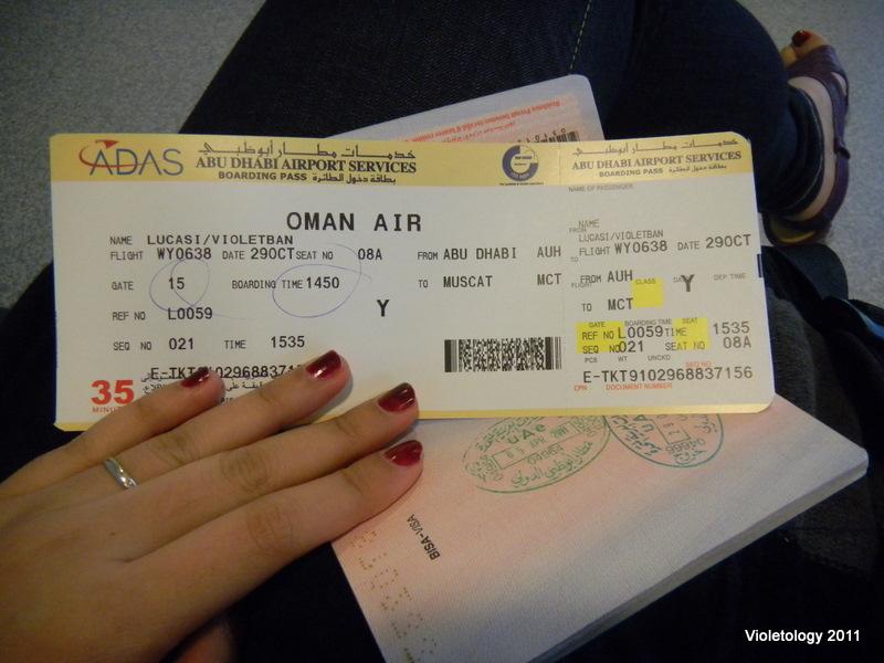 Tourist Exit - Hello, Oman! (2/6)