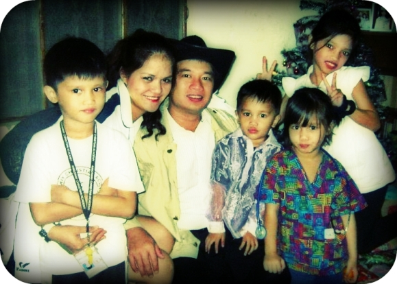 My eldest brother's family