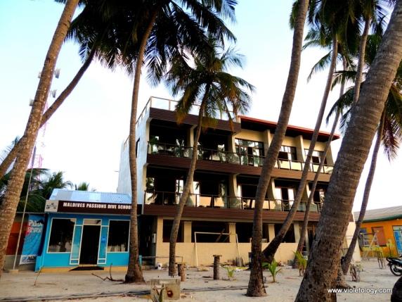 Diving school + new hotel