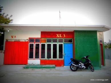 Colorful shops