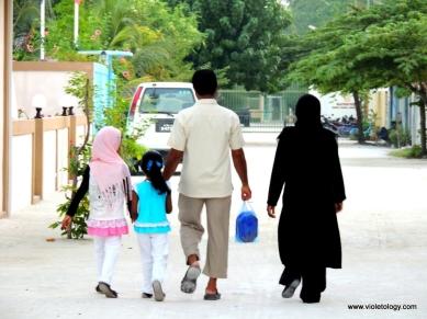 Walking locals