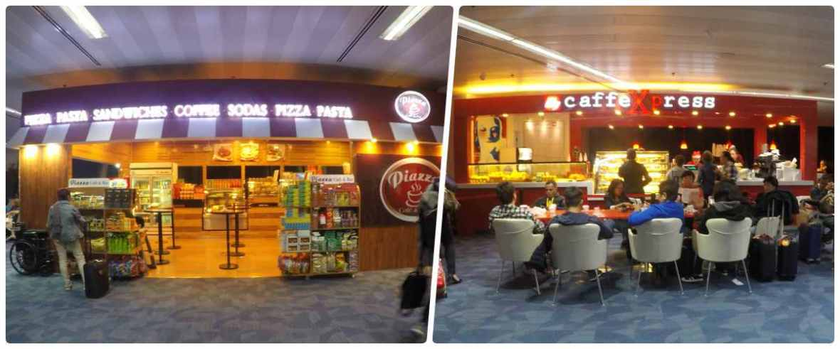 naia manila airport cafe restaurant
