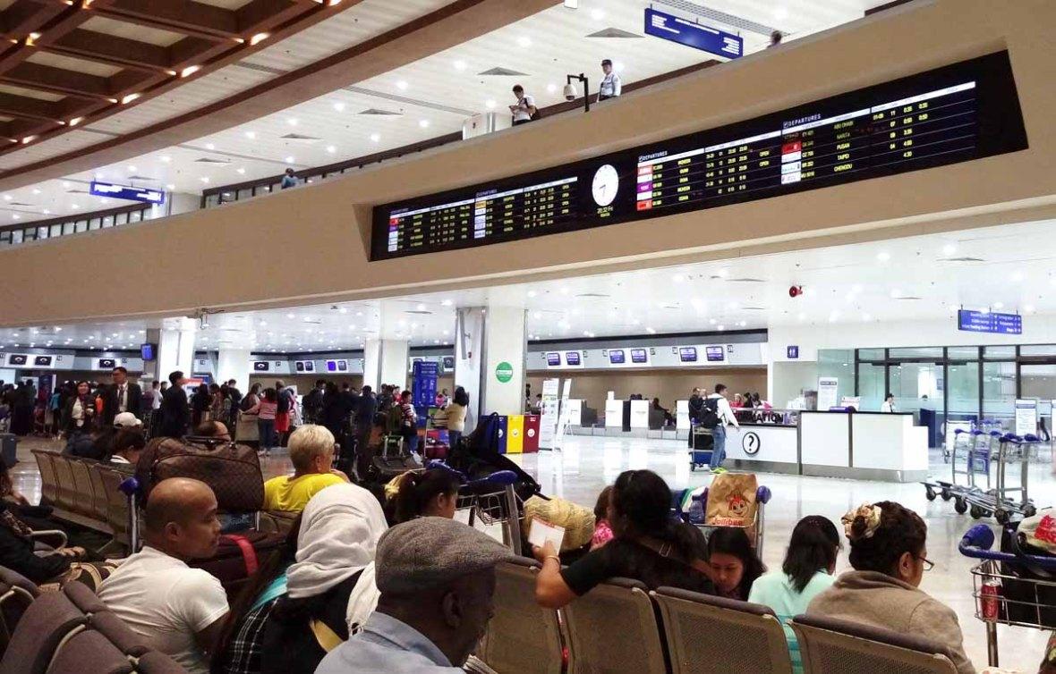 naia manila airport departure