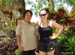 Because of ate Rose, I had a very good first impression of the resort. From the moment we arrived, until the last day, she made sure we had everything we needed.