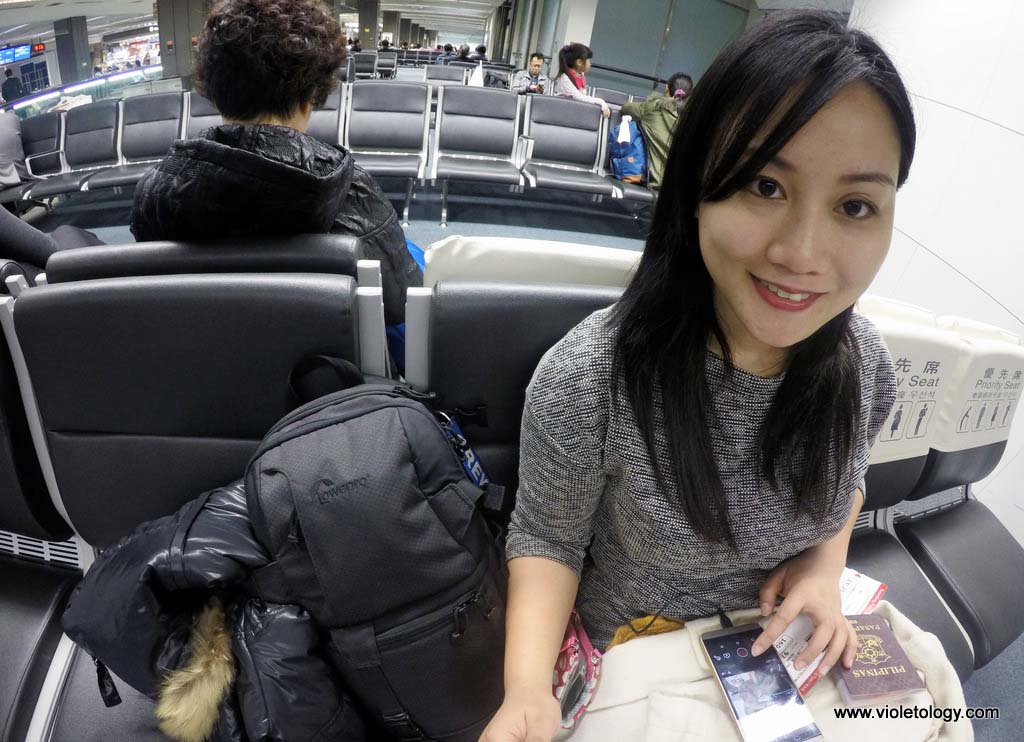 Flight to Korea