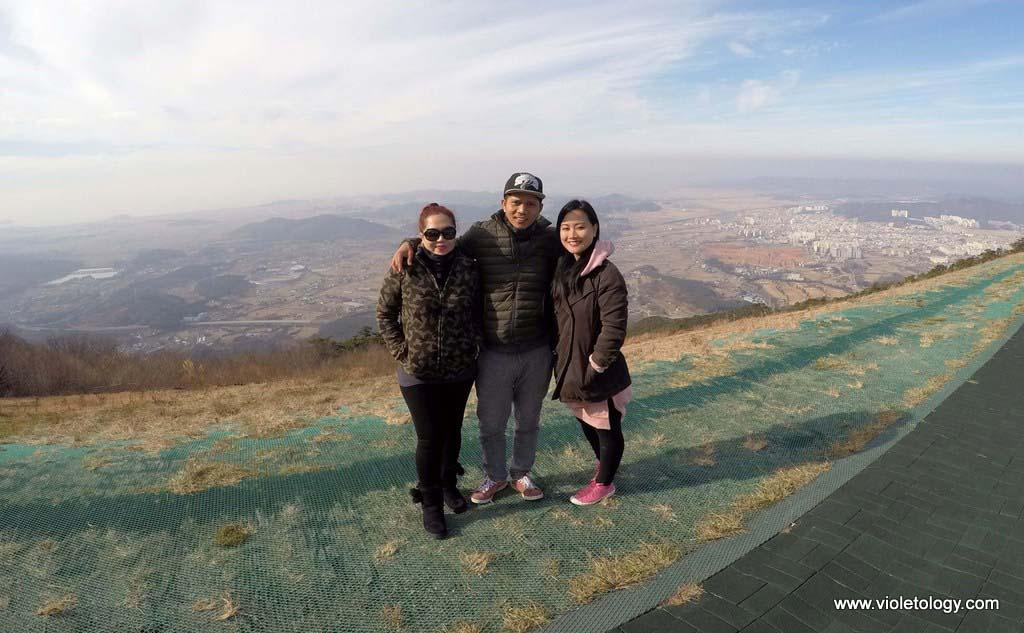 paragliding in korea