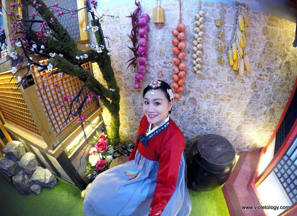 Korea hanbok goguan
