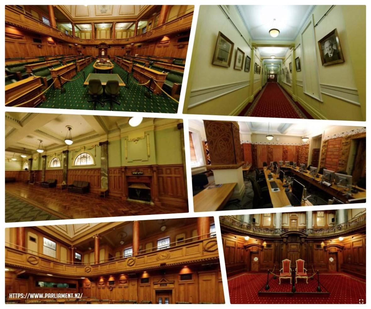new zealand parliament tour