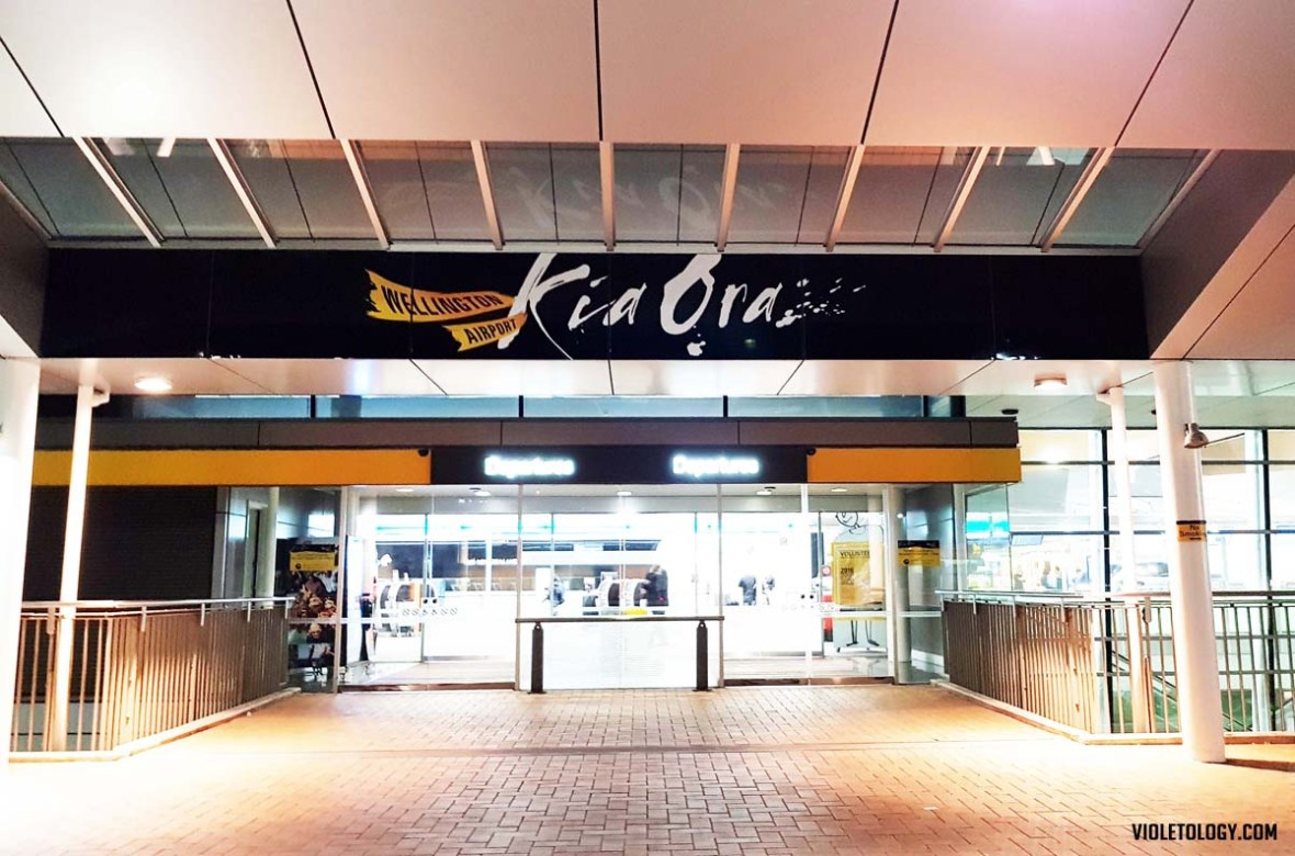 wellinton airport kia ora