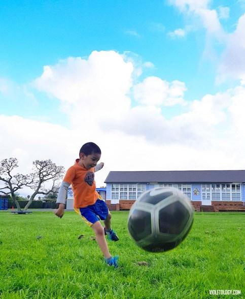 football kids new zealand