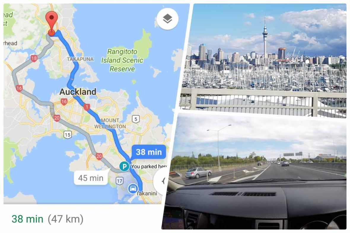 driving in auckland
