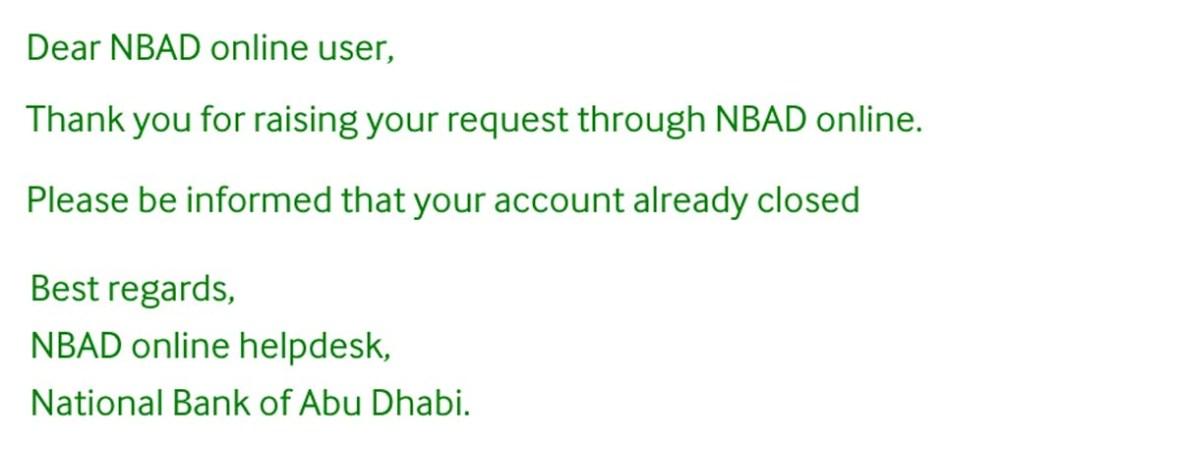 nbad online service