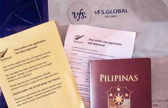 new zealand visa application from philippines