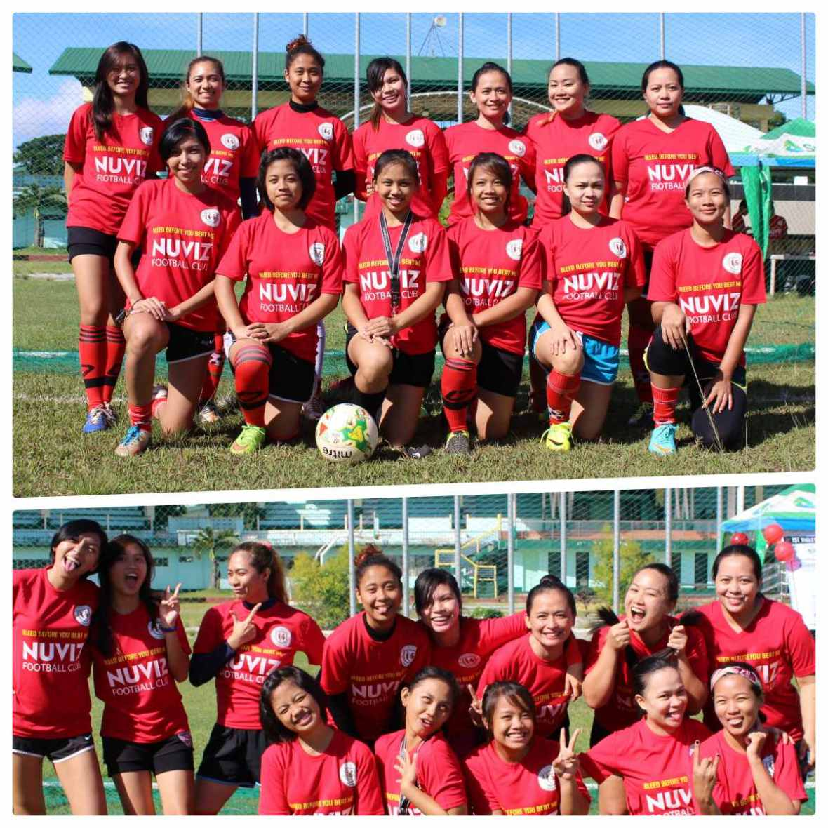 nuviz football club ladies team
