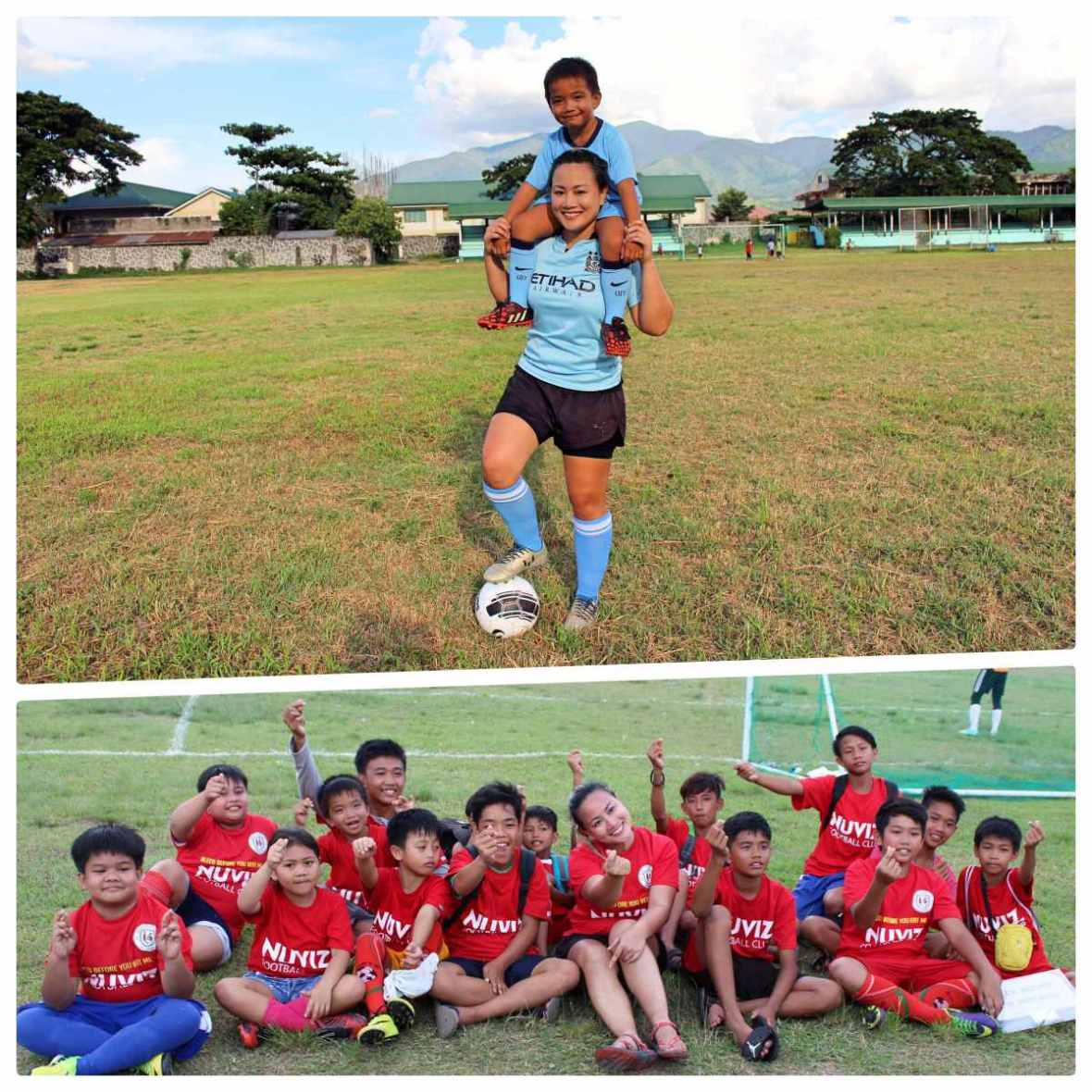 nuviz football kids