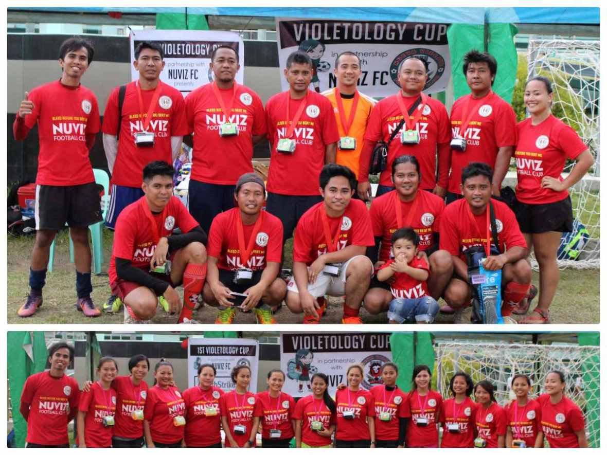 nuviz football violetology cup