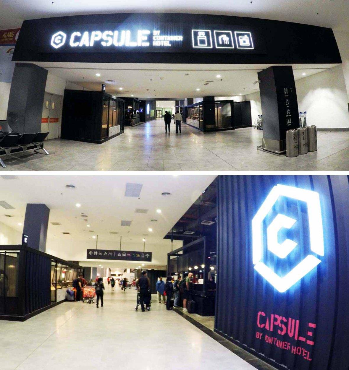 capsule container hotel klia2