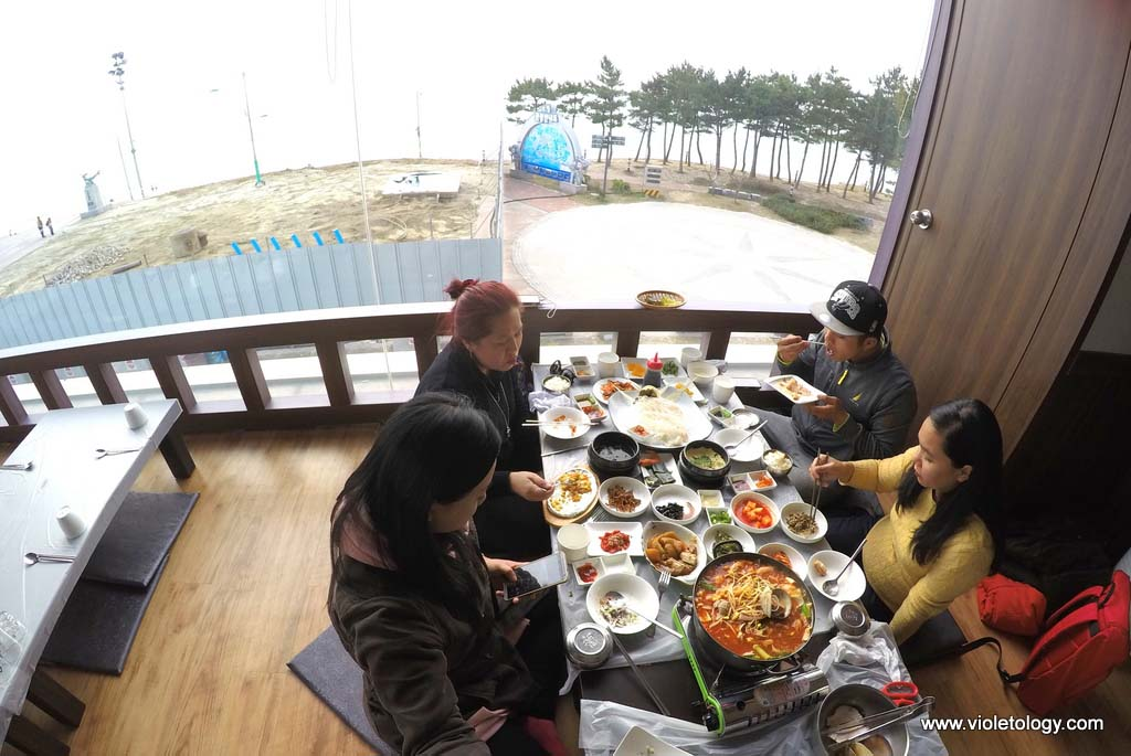 boryeong raw fish restaurant korea