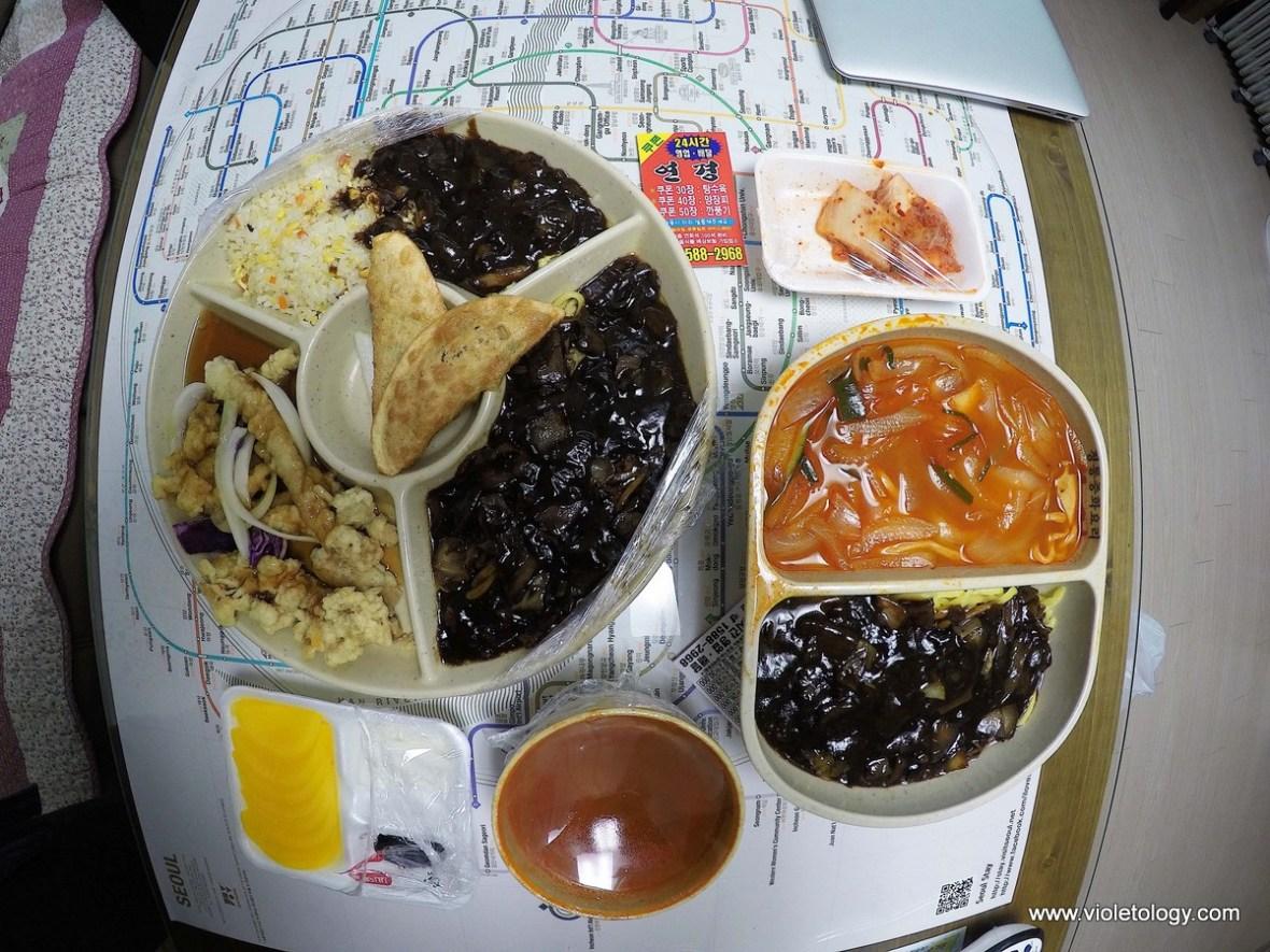 korean take away food seoul