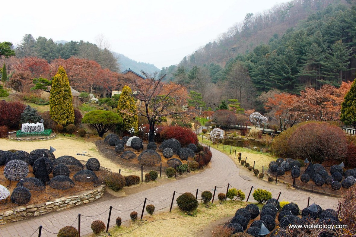 the garden of morning calm seoul