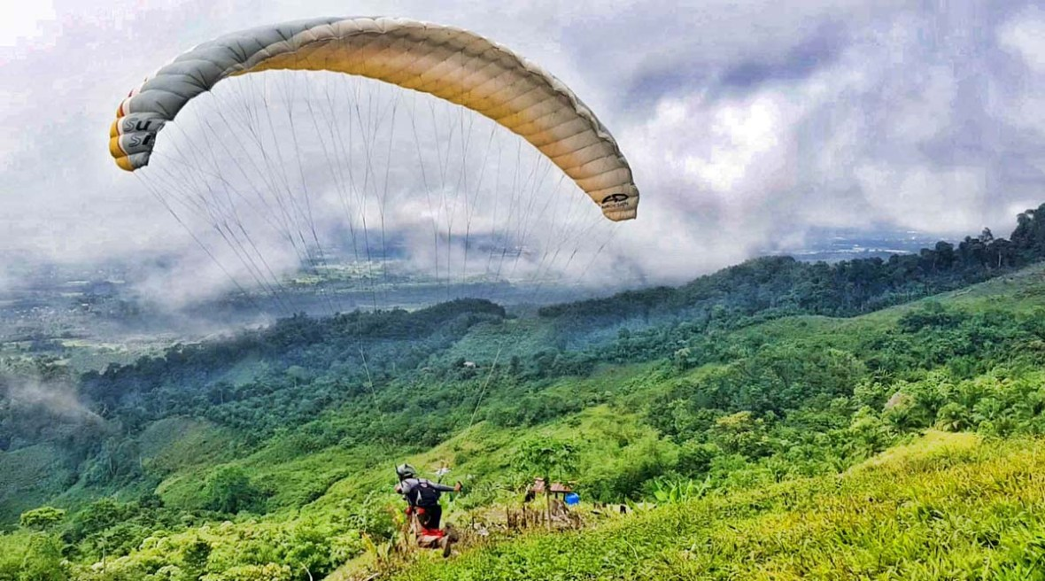 keningau paragliding