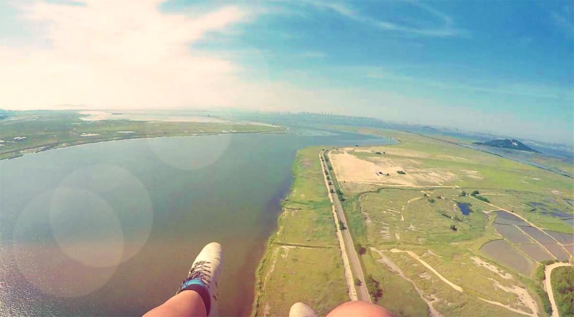 paragliding korea