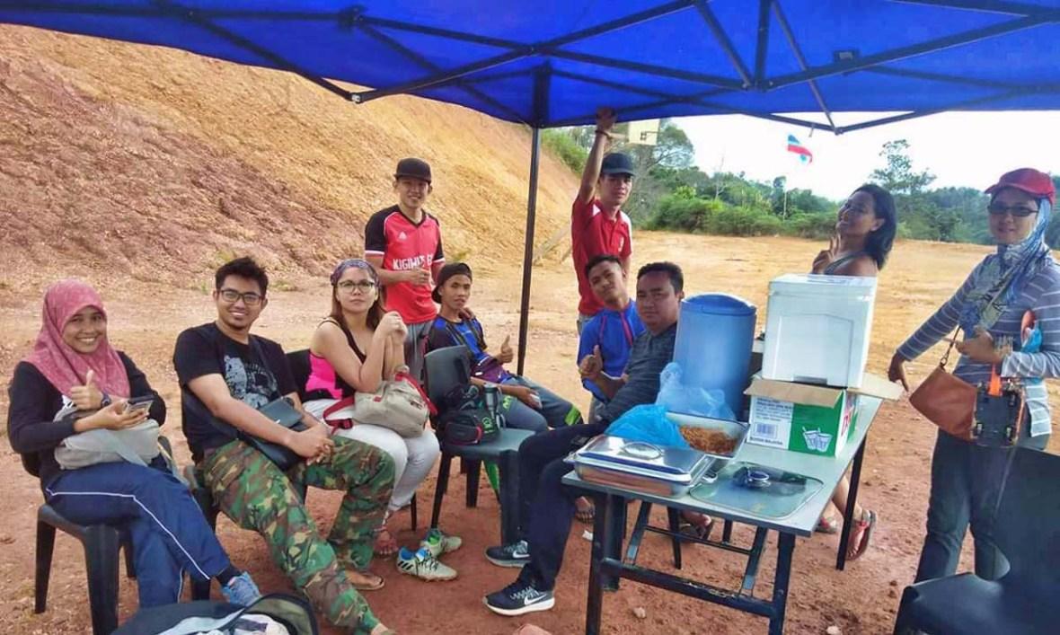 Paragliding Kolej Komuniti Tambunan
