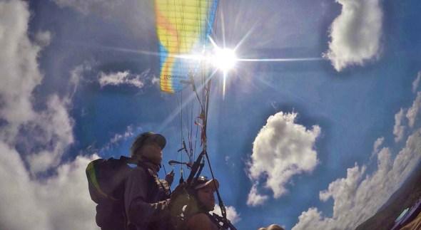 paragliding keningau sabah borneo malaysia