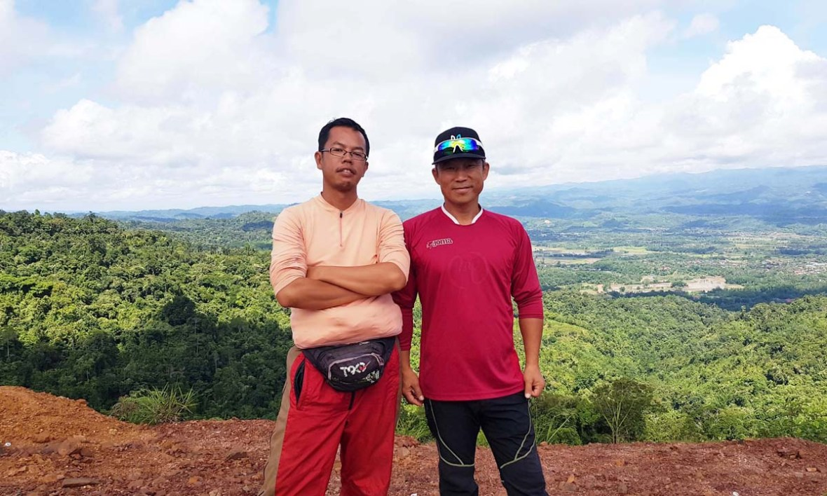 Tambunan: Paragliding in Sinurambi View Point (Part 1) – Violetology
