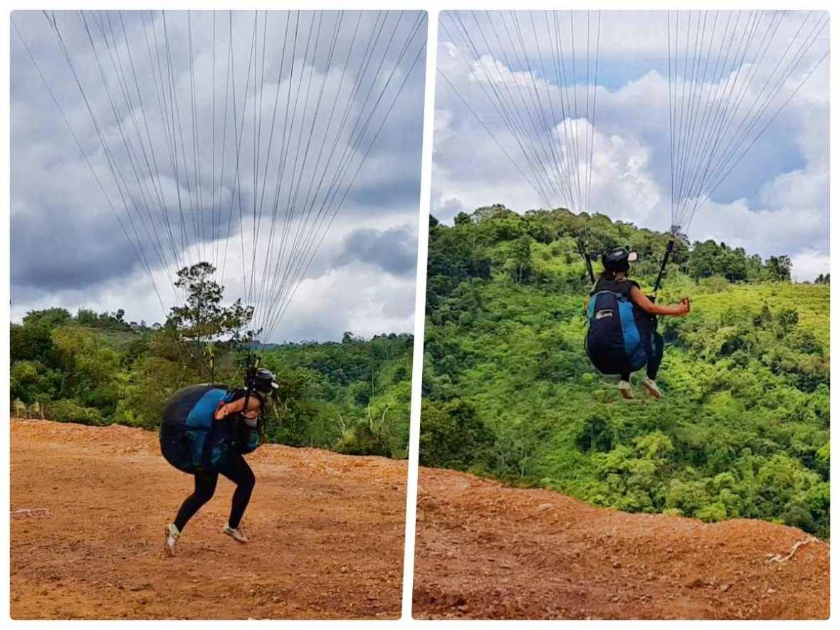 tambunan paragliding sabah malaysia