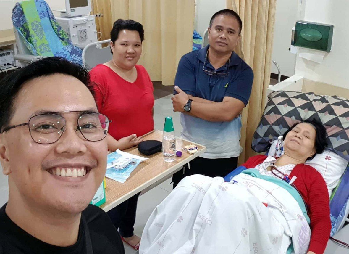 gloria lucasi dialysis philippine heart center
