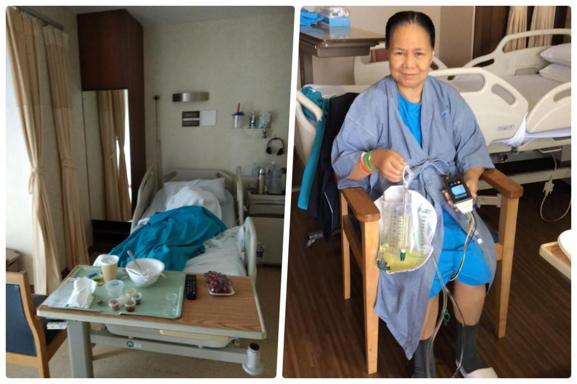 gloria lucasi singapore hospital