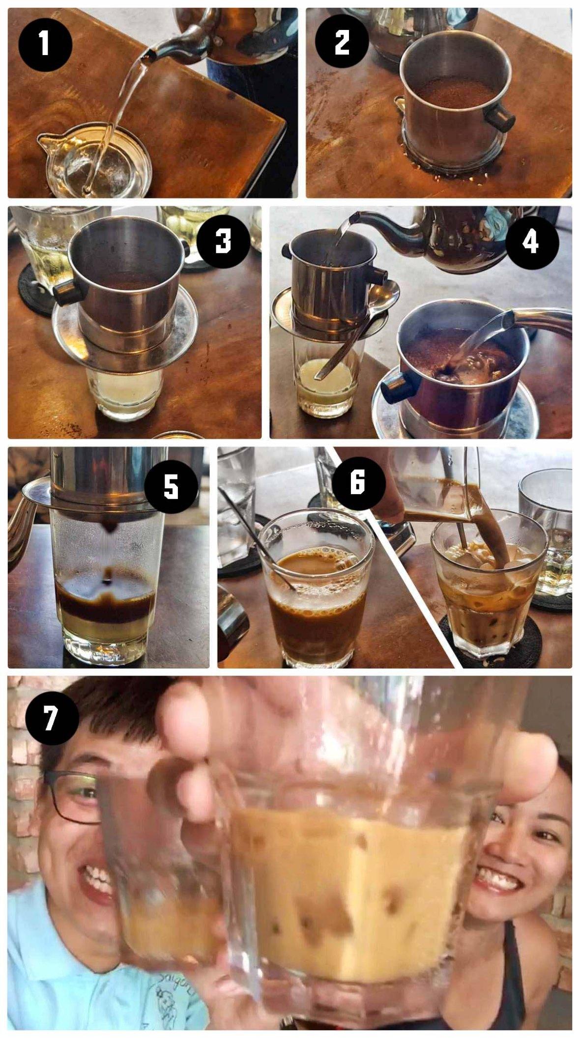 how to make vietnamese coffee