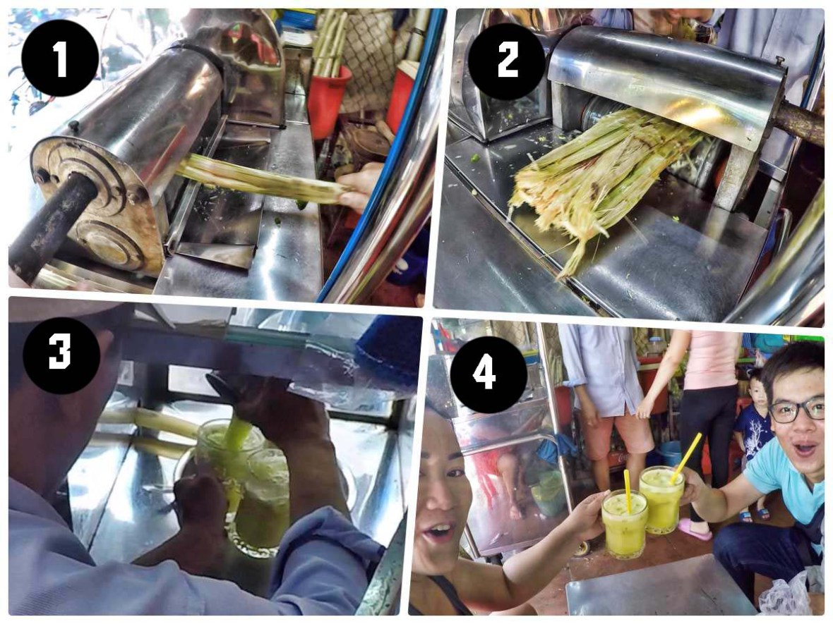 saigon adventure ho chi minh vietnam sugarcane juice