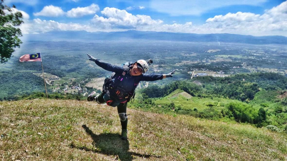paragliding keningau