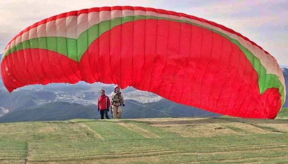 danyang paragliding