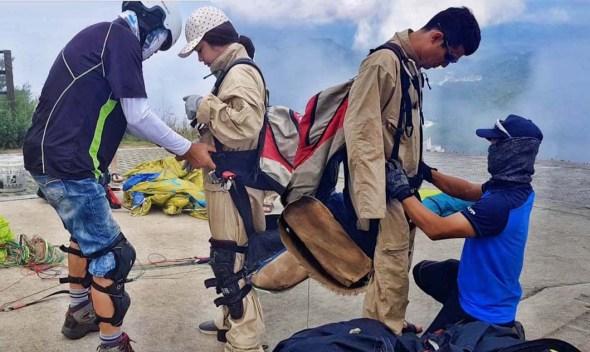 danyang paragliding tandem flight