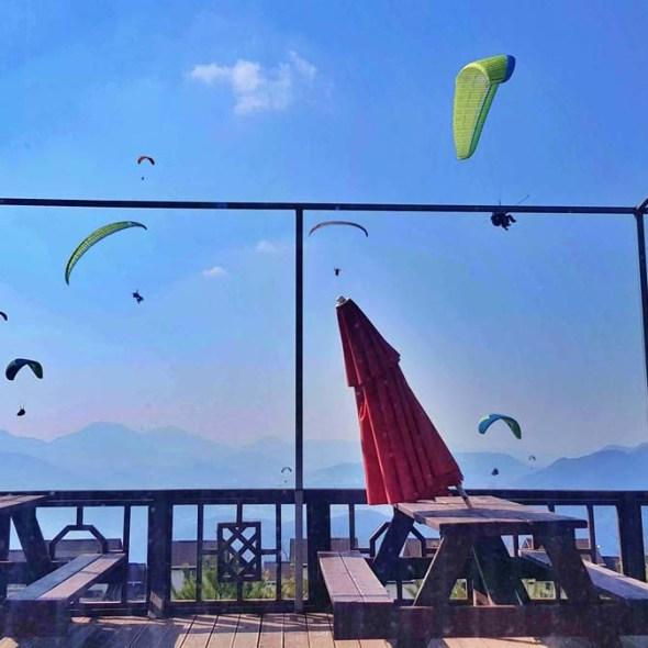 doo san sky cafe danyang paragliding