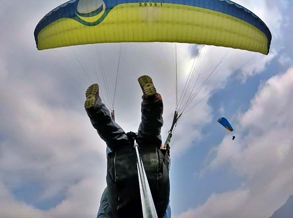 paragliding korea danyang