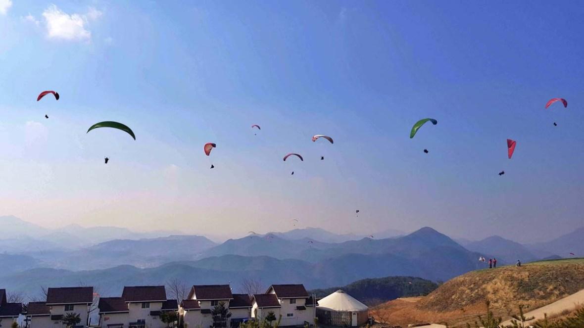 sky para danyang paragliding