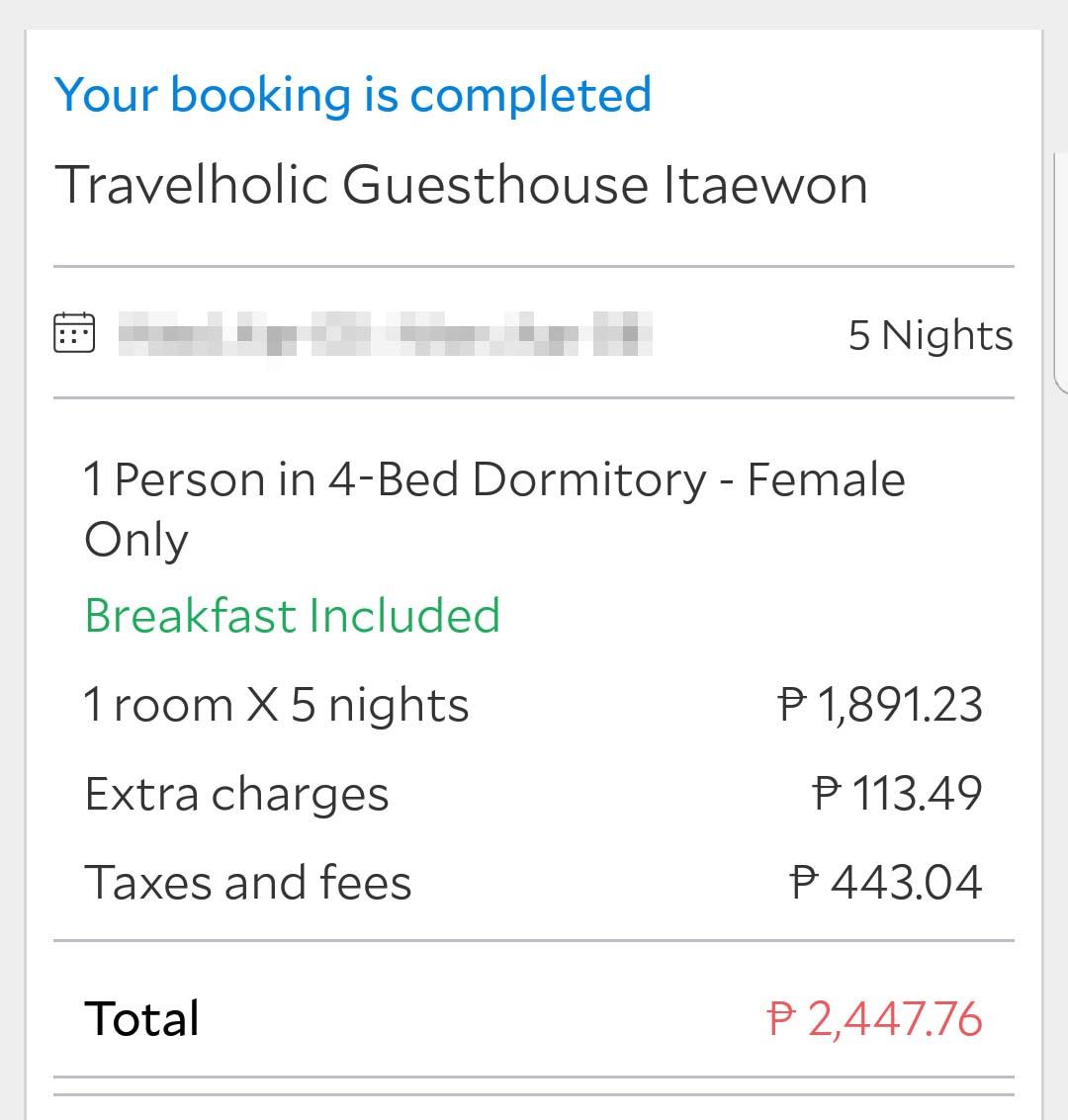 travelholic guesthouse itaewon