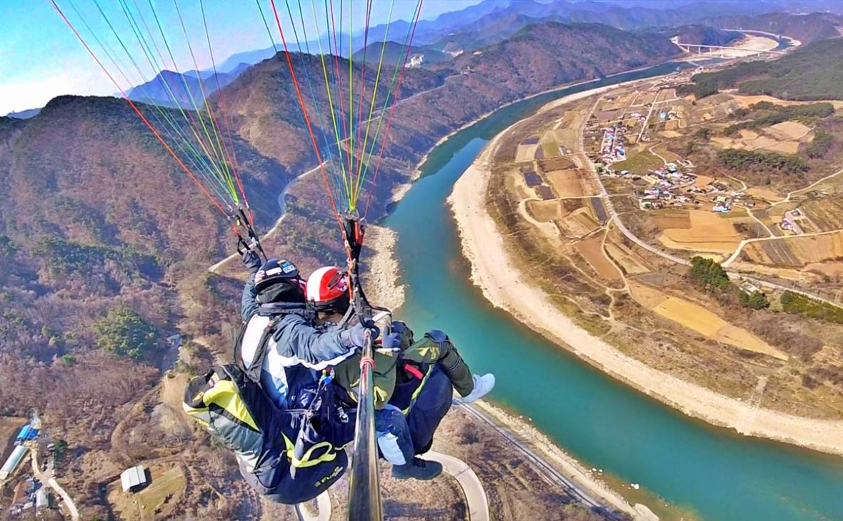danyang awesome paragliding