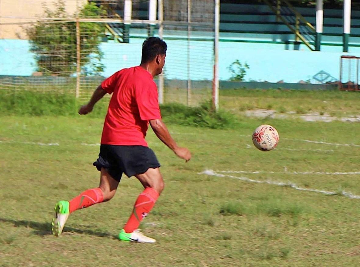 Nueva Vizcaya Football Club Mark Araneta