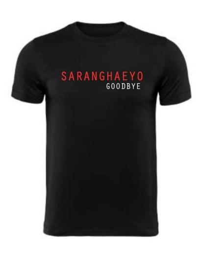saranghaeyo goodbye