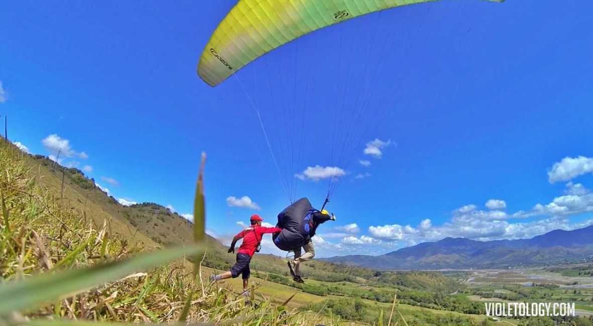 paragliding course philippines