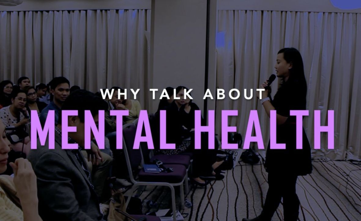 why talk about mental health